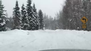 Snowy alaska