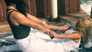 Yoga Massage Stretching