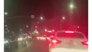 12AM Hollywood Traffic