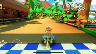 Mario Kart Tour - Soda Jet Kart Gameplay (Cat Tour Token Shop Reward)
