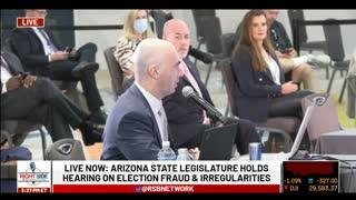 Matt Braynard's Testimony During Arizona Legislature Hearing on Election Fraud
