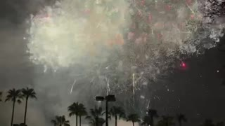 Tampa fireworks