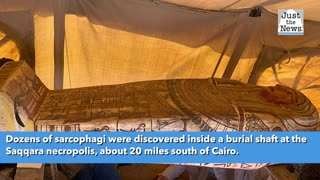 Egypt: 2,500 year-old sarcophagi discovered