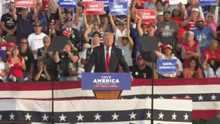 Crowd Chants 4 More Years at Trump Rally Ohio