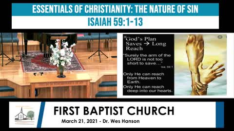 Adult Sunday school - March 21, 2021