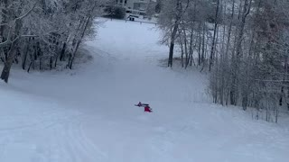 First time being on a GT snow racer