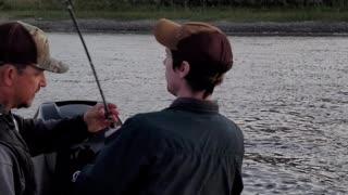Priceless fishing video.