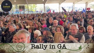 FULL Speech - Lin Wood at Georgia rally
