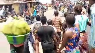Police and Bike riders Saga in Sierra Leone