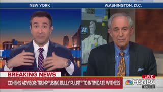 Lanny Davis accuses Trump of witness intimidation