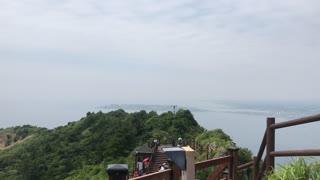 Sungsan mountain in South Korea