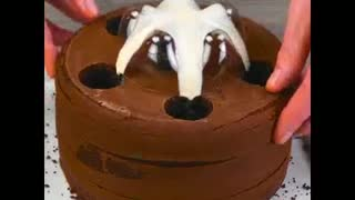 chocolate cake with your own hands