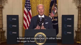 President Biden using a racial slur