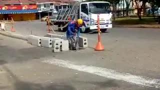 Se reactivaron las obras de la ciclorruta en Bucaramanga