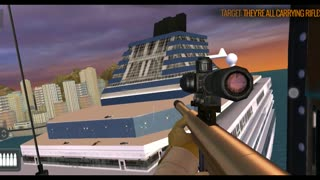 Sniper 3d : Aim and shoot