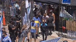 Entierro de Maradona