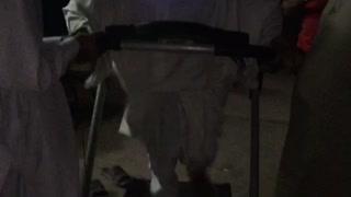 Sodani boy running on running machine