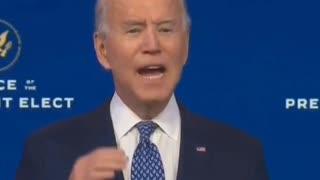 Joe biden's latest darkest Day speech