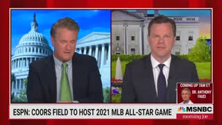 Joe Scarborough Blasts MLB's 'Ridiculous' Decision To Move MLB All Star Game