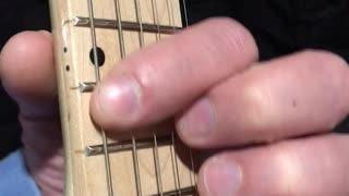 Beginner Guitar, Slide Up And Down One Half Step