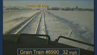 BNSF Railway Train Derailment and Subsequent Train Collision