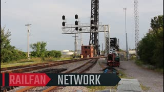 Norfolk Southern And Amtrak FRONT ROW SEATS!