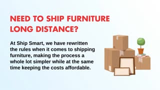Cheap Furniture Shipping Services Across Country