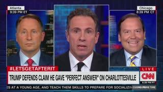 Chris Cuomo defends Antifa