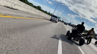 Rider Hit off Bike by Police and Arrested