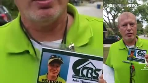 Joe Biden's Green Shirt Gestapo Vaccine Pushing Shock Troops Confronted