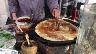 Street food - Jianbing in Beijing China