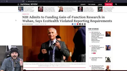 National Institute Of Health ADMITS US Funded Gain Of Function Research, Fauci LIED To Congress