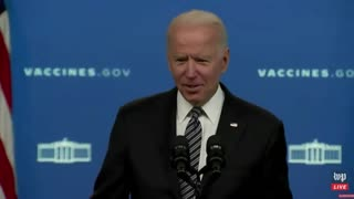 """Joe Biden Admits, """"I'm Not Supposed to Be Answering"""" Reporters' Questions"""
