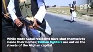 the Taliban are in Kabul
