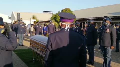 SAPS officers paying tribute to beloved Shaleen Surtie-Richards