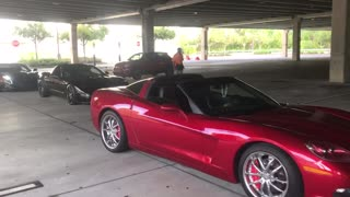Corvette guys are car guys, work hard play hard