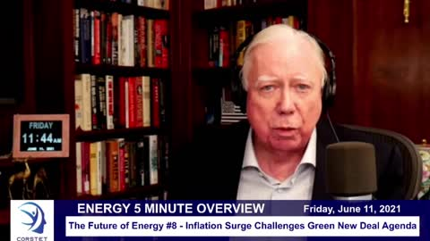 Corstet 5 Minute: Future Of Energy #8 - Inflation Surge Challenges Green New Deal Agenda
