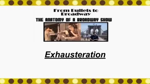 From Bullets to Broadway | Night Shift Exhausteration