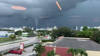 Tornado Touches Down in Aventura