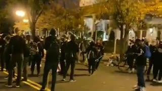 Antifa Prepares for a Night of Unrest in Washington DC