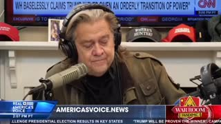 STEVE BANNON GETS SERIOUS WITH TRUMP & AUDIENCE! Must SEE!