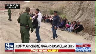 Trump considers releasing migrants into sanctuary cities
