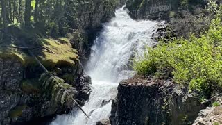 Half Moon Waterfall - Big Timber MT