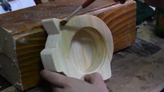 Woodworking: Wooden Piggy Bank