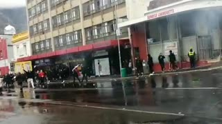 GBV march turns violent 2