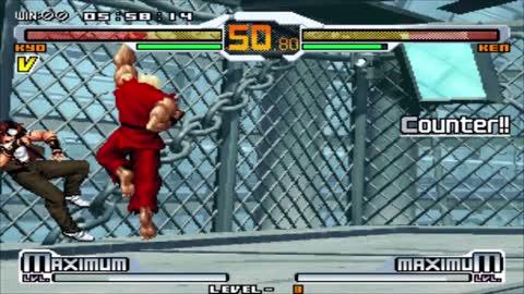 SNK vs Capcom Chaos - Kyo - Level 8