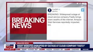 ⛔️ Major Worldwide Internet Outage ⛔️ 6/8/2021
