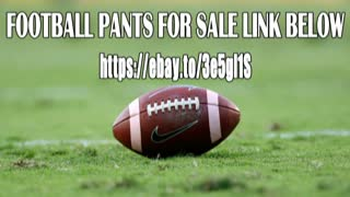 Ebay Football Pants For Sale Free Shipping