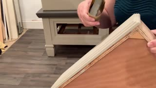 How to distress furniture for a natural finish