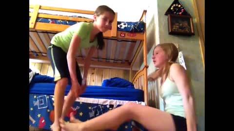 two person gymnastics...